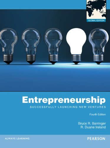 9780273761402: Entrepreneurship: Successfully Launching New Ventures Global Edition