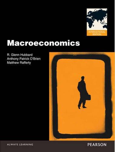 Macroeconomics: Hubbard, Glenn P