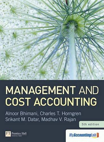 9780273762232: Management and Cost Accounting with Myaccountinglab Access Card