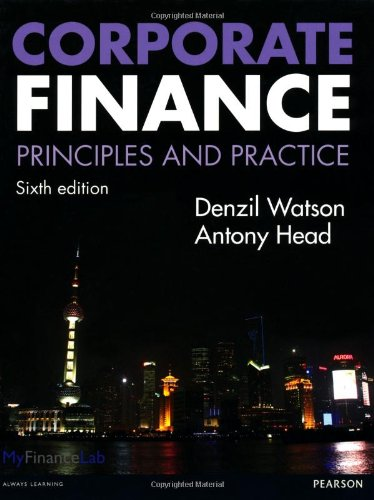9780273762744: Corporate Finance: Principles and Practice