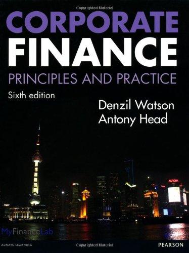 9780273762744: Corporate Finance: Principles & Practice