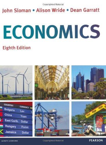 Economics: Sloman, John, Wride,