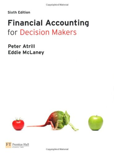 9780273763451: Financial Accounting for Decision Makers with MyAccountingLab access card
