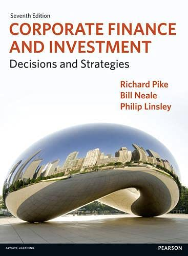 9780273763468: Corporate Finance and Investment: Decisions and Strategies