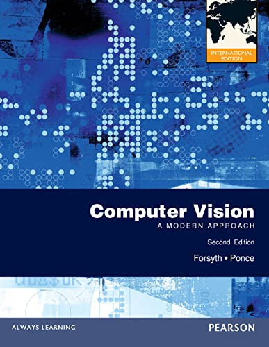 9780273764144: Computer Vision: A Modern Approach. David A. Forsyth, Jean Ponce
