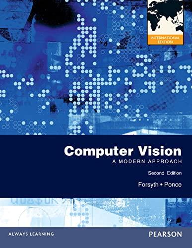 9780273764144: Computer Vision: A Modern Approach
