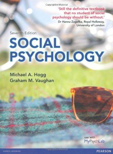 9780273764595: Social Psychology