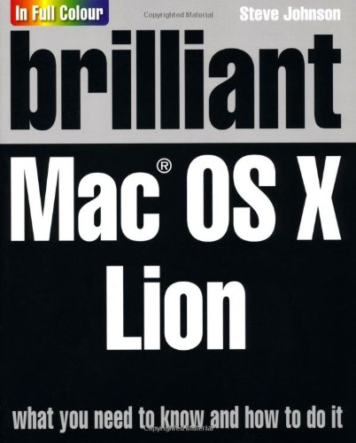 Brilliant Mac OS X Lion: Johnson, Mr Steve
