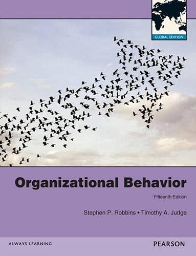 9780273765295: Organizational Behavior Global Edition
