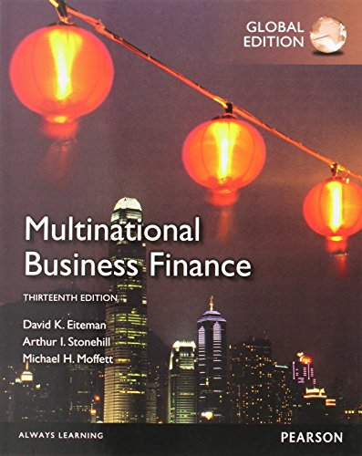 9780273765530: Multinational Business Finance
