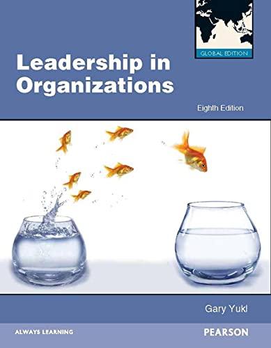 9780273765660: Leadership in Organizations