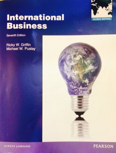 9780273765868: International Business (7th Edition - Global Edition)