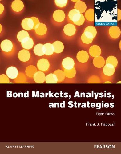 9780273766131: Bond Markets, Analysis and Strategies 8e