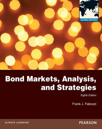9780273766131: Fabozzi: Bond Markets, Analysis and Strategies