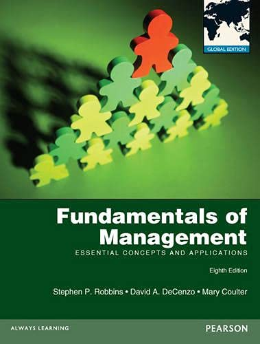 9780273766179: Fundamentals of Management