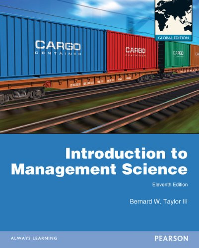 9780273766407: Introduction to Management Science: Global Edition