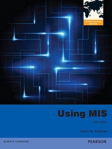 9780273766483: Using MIS 2013