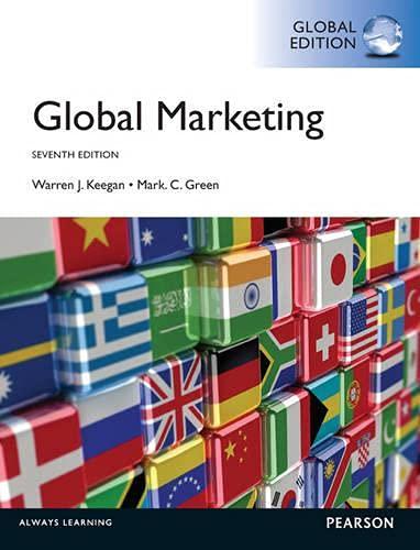 9780273766711: Global Marketing: Global Edition