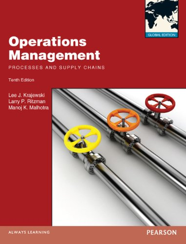 9780273766834: Operations Management:Processes and Supply Chains: Global Edition