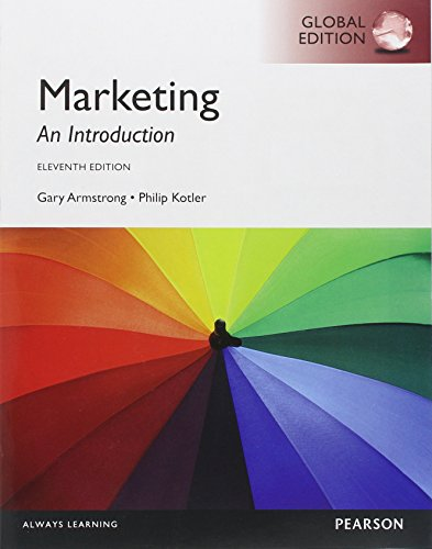 9780273767183: Marketing: An Introduction, Global Edition