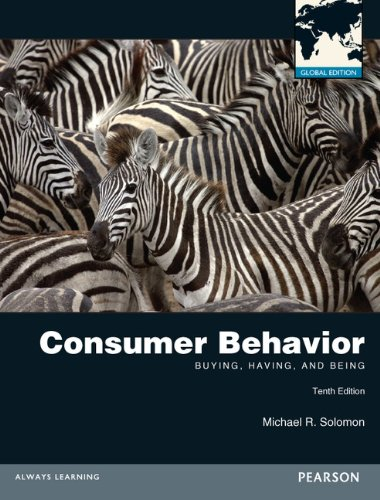 9780273767312: Consumer Behavior: Buying, Having, and Being