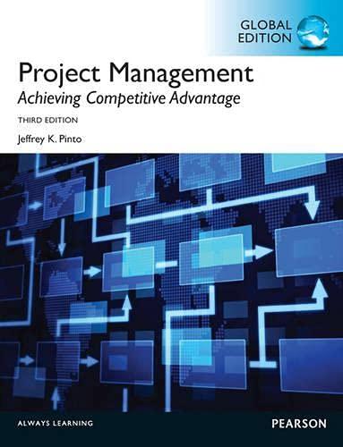 9780273767428: Project Management, Achieving Competitive Advantage Global Edition