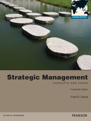 9780273767480: Strategic Management: Concepts and Cases Global Edition