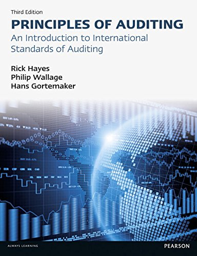 9780273768173: Principles of Auditing: An Introduction to International Standards on Auditing (3rd Edition)