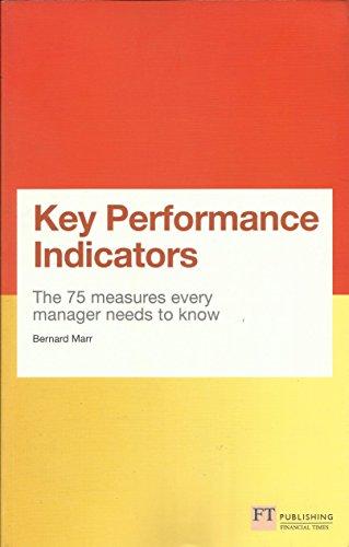 9780273768210: Key Performance Indicators Kpi Travel ed