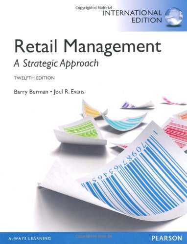9780273768562: Retail Management