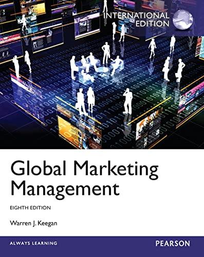 9780273768685: Global Marketing Management: International Edition