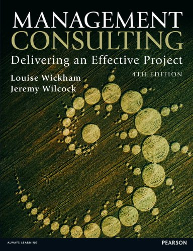 9780273768746: Management Consulting: Delivering an Effective Project