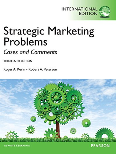 9780273768944: Strategic Marketing Problems