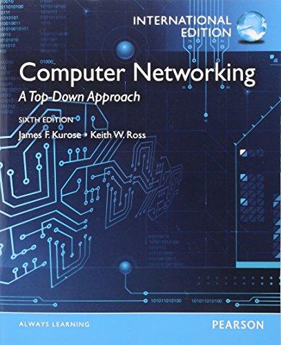 9780273768968: Computer Networking. James F. Kurose, Keith W. Ross