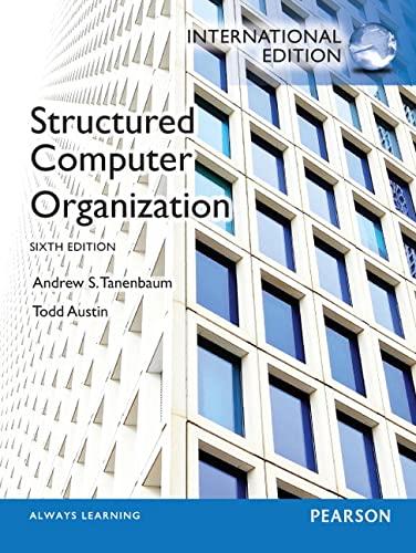 9780273769248: Structured Computer Organization: International Edition
