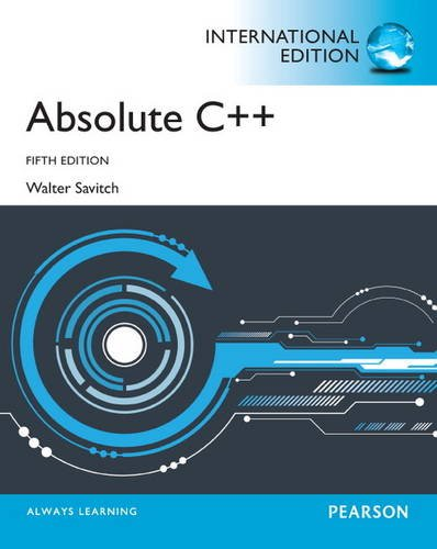 9780273769354: Absolute C++ with MyProgrammingLab: International Editions