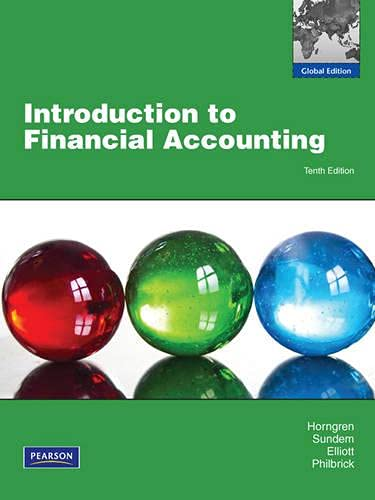 9780273770176: Introduction to Financial Accounting: Global Edition
