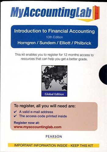 9780273770183: Student Access Card for Introduction to Financial Accounting