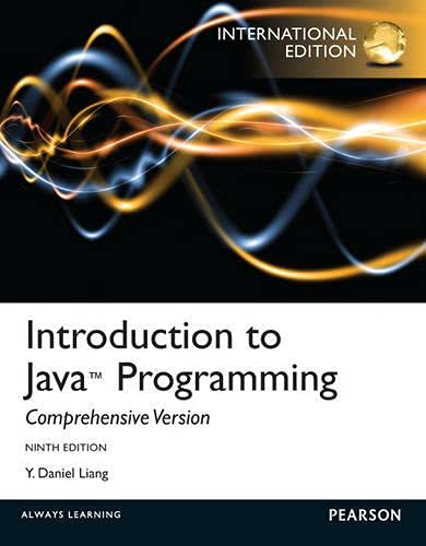 9780273771388: Introduction to Java Programming. Y. Daniel Liang