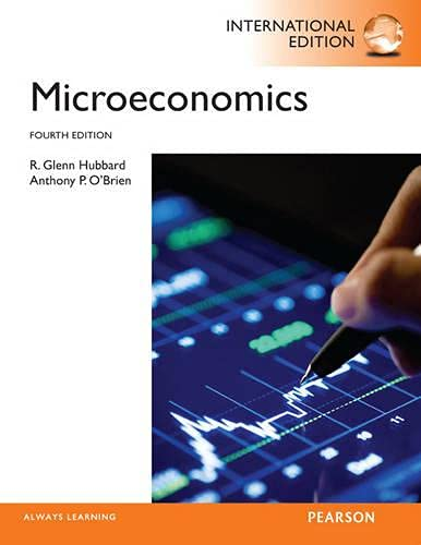 Microeconomics: International Edition: Hubbard, R. Glenn