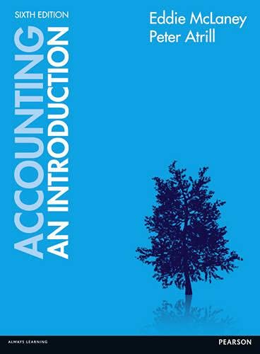 9780273771838: Accounting: An Introduction