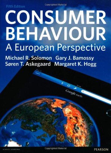 9780273772729: Consumer Behaviour: A European Perspective