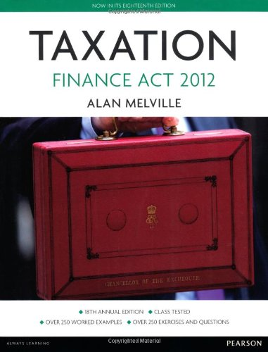 9780273773016: Taxation: Finance Act 2012