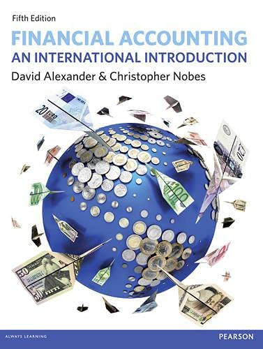 9780273773436: Financial Accounting: An International Introduction
