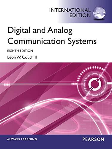 9780273774211: Digital & Analog Communication Systems