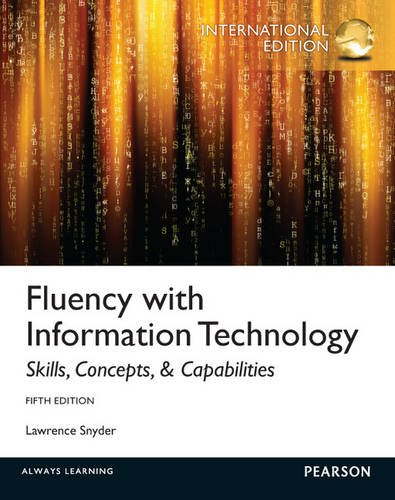 9780273774389: Fluency with Information Technology: International Edition