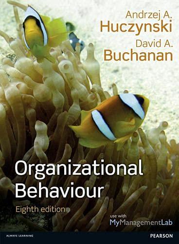 9780273774815: Organizational Behaviour