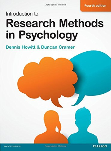 9780273775058: Introduction to Research Methods in Psychology
