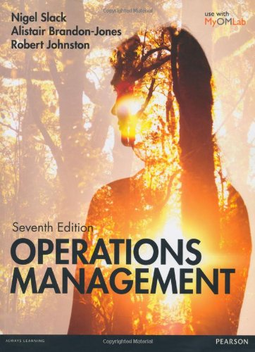 9780273776291: Slack: Operations Management 7th edition MyOMLab pack