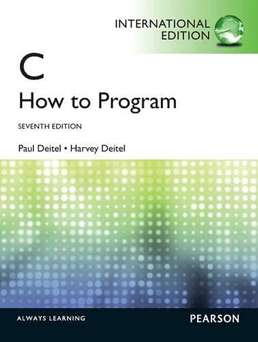 9780273776840: C How to Program